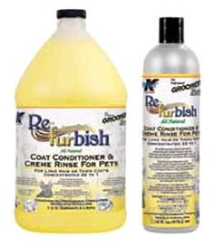 Groomer's Edge Re-Fur-Bish Conditioner