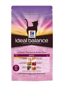 Hill's Ideal Balance Feline Adult Chicken & Brown Rice 2 kg