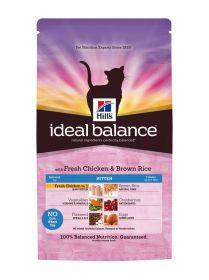 Hill's Ideal Balance Feline Kitten Chicken & Brown Rice 2 kg