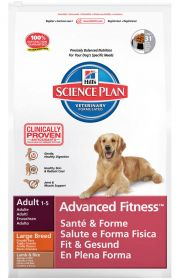 Hill's Science Plan Canine Adult Large Breed Lamb Rice 12 kg