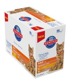 Hill's Science Plan Feline Adult Chicken Turkey selection 12x85g