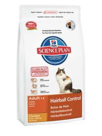 Hill's Science Plan Feline Adult Hairball Control Chicken 1,5 kg
