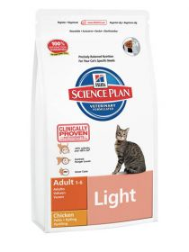 Hill's Science Plan Feline Adult Light Chicken 1,5 kg