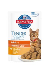 Hill's Science Plan Feline Adult Pouch Chicken 85g - 12 kpl