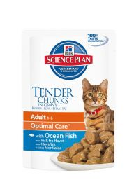 Hill's Science Plan Feline Adult Pouch Ocean Fish 85g