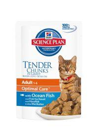 Hill's Science Plan Feline Adult Pouch Ocean Fish 85g