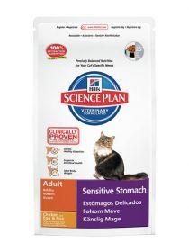 Hill's Science Plan Feline Adult Sensitive Stomach Chicken 1,5 kg