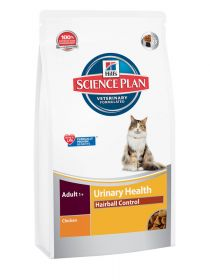 Hill´s SP Adult Urinary Health & Hairball Control Chicken 3 kg Feline