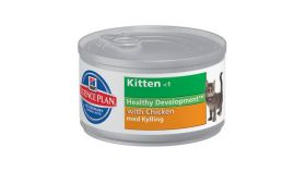 Hill's Science Plan Feline Kitten Chicken 85 g - 24 kpl