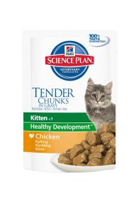 Hill's Science Plan Feline Kitten Pouch Chicken 85g - 12 kpl