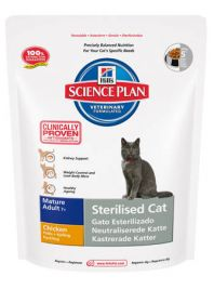 Hill's Science Plan Feline Sterilised Cat Mature Adult Chicken 1,5 kg