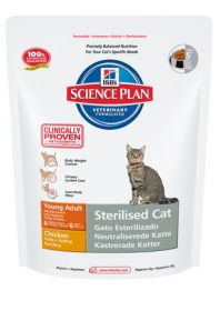 Hill's Science Plan Feline Sterilised Cat Young Adult Chicken 1,5 kg