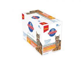 Hill's Science Plan Feline Sterilised Cat Young Adult kana-lohi lajitelmapakkaus 12x85 g