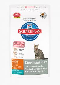 Hill's Science Plan Feline Sterilised Cat Young Adult Tuna 1,5kg