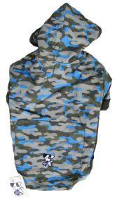 HP koirantakki Hoodie armeijakuosi-sininen- Eri kokoja