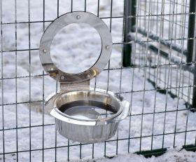 Jämpti Lämmitettävä kuppi tarhan ulkopuolelle
