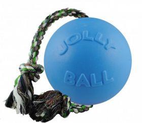 Jolly Romp-n-Roll köysipallo, mustikka - Useita eri kokoja
