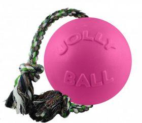 Jolly Romp-n-Roll köysipallo, pinkki - Useita eri kokoja