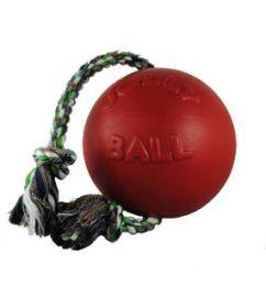 Jolly Romp-n-Roll köysipallo, punainen - Useita eri kokoja
