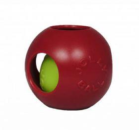 Jolly Teaser Ball pallo-pallon sisällä, punainen - Useita eri kokoja