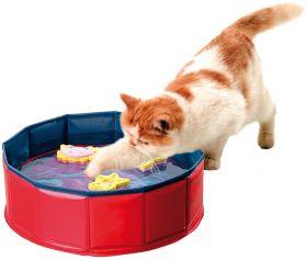 Karlie Kitty Lake -lampi kissan kesäleikkeihin