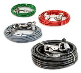 Koiran TIE-OUT Cable -kiinnitysvaijeri