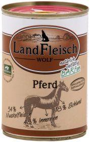 LandFleisch WOLF Hypoallergenic Hevosta koiralle, 400 g