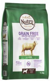 Nutro Grainfree Adult Lammas 11,5 kg - Viljaton
