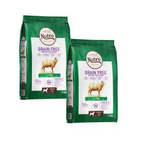 Nutro Grainfree Adult Lammas 2 x 11,5 kg - Viljaton