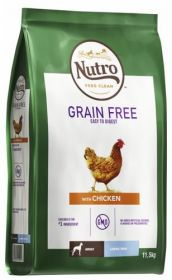 Nutro Grainfree Adult Large Kana 11,5 kg - Viljaton