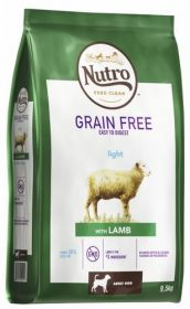 Nutro Grainfree Light Lammas 9,5 kg - Viljaton
