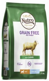 Nutro Grainfree Puppy Large Lammas 11,5 kg - Viljaton
