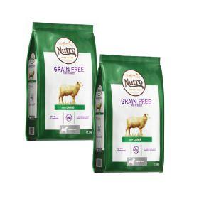 Nutro Grainfree Senior Lammas 2 x 11,5 kg - Viljaton