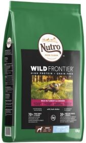 Nutro Wild Frontier Adult Large Kalkkuna & kana 10 kg