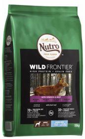 Nutro Wild Frontier Adult Large Peura & härkä 10 kg - Viljaton