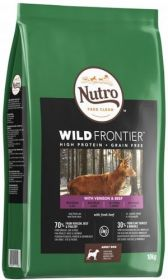 Nutro Wild Frontier Adult Peura & härkä 10 kg