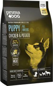 PrimaDog Puppy All Breeds Kana-peruna 4 kg