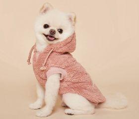 PuppyGallery - Croissant party huppari vaaleanpunainen - Eri kokoja