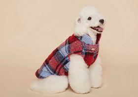 PuppyGallery - Lumberjack fleece takki Punainen