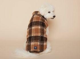 PuppyGallery - Lumberjack fleece takki Ruskea - Eri kokoja