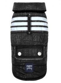 PuppyGallery - Union Jack takki Musta - Eri kokoja