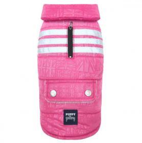 PuppyGallery - Union Jack takki Pinkki - Eri kokoja