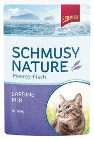 Schmusy meri-kala-pussi  sardiini 100g - 24 pussia