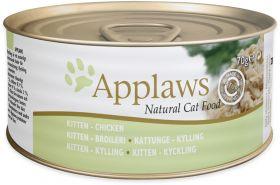 Applaws pentu - kitten Kana 70g - 24 purkkia