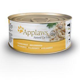 Applaws kissa kananrinta 70g - 24 purkkia