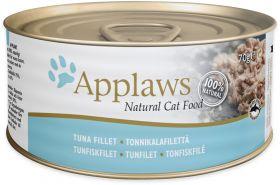 Applaws kissa tonnikalanfile 70g - 24 purkkia