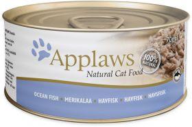 Applaws kissa merikala 70g purkki - 24 purkkia