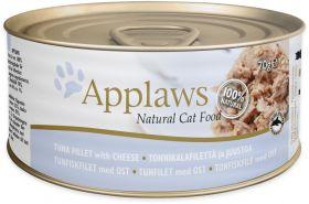 Applaws kissa tonnikalafile & juusto 70g - 24 purkkia