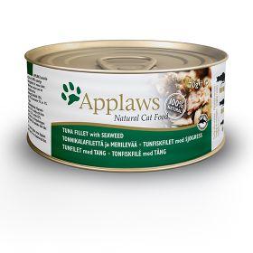 Applaws kissa tonnikalafile & merilevä 70g - 24 purkkia