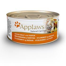 Applaws kissa kananrinta & kurpitsa 70g - 24 purkkia